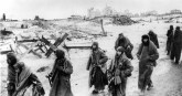Being marched into captivity after Stalingrad.