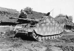 7.5 cm KwK 40 L/48 on a Panzer IV.