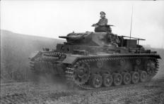 Panzerbefehlswagen, Balkans, 1941.