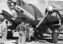 He 111E of the Legion Condor.