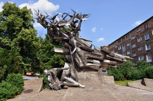 Monument to the Defenders of the Polish Post Office, Gdańsk.