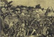 The Battle of Kirchheimbolanden, 14 June 1849.