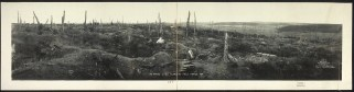 A stretch of no man's land at Flanders Fields, France, 1919.