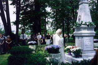 Vlasov memorial in Nanuet, New York.