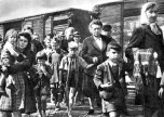 The expulsion of Germans from Czechoslovakia as the result of the end of World War II.