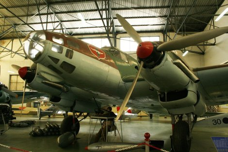 The oldest survivor: He 111 E-3.