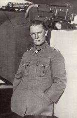 Goering, the last commander of the Richthofen squadron.