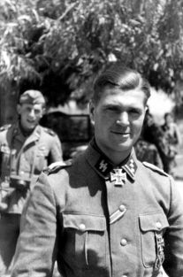 Knight Cross bearer Gerhard Pleiß.
