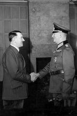 Adolf Hitler and Field Marshal Keitel, 1941.