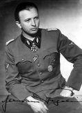 SS Standartenführer Hermann Fegelein.