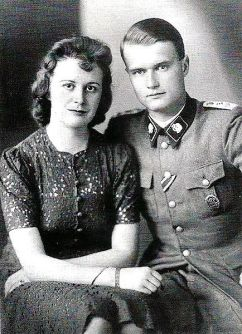 Walter Reder with wife Ursula.