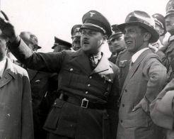 Leopold Gutterer with Goebbels.