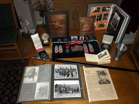 Walter Harzer's personal collection.