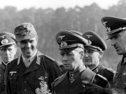 Erwin Rommel, on his right, his orderly officer Alfred-Ingemar Berndt, which was subordinated to him for special use.