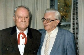 Walter Reder and Heinz Harmel (right).