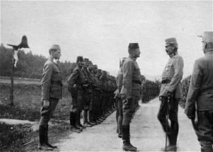 Recruits from Bosnia-Herzegovina, including Muslim Bosniaks (31%), were drafted into special units of the Austro-Hungarian Army as early as 1879 and were commended for their bravery in service of the Austrian emperor, winning more medals than any other unit. The jaunty military march Die Bosniaken Kommen was composed in their honor by Eduard Wagnes.