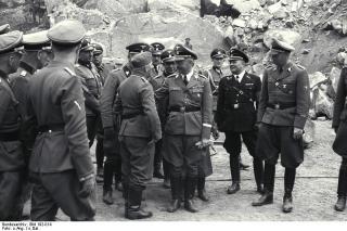 Wilhelm Bittrich with Heinrich Himmler.