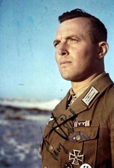 Oberstleutnant Georg Briel of the Afrikakorps.
