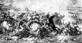 Juliusz Kossak, Battle of Gravelotte, depicting the Prussians at Gravelotte, 1871.