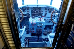 Junkers Ju 52 cockpit layout.
