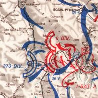 The assault by Kampfgruppe Willam on 25 May 1944.
