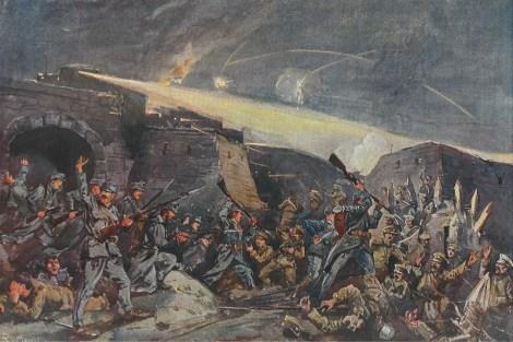 Siege of Przemyśl in 1915.
