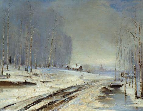 Rasputitsa (Sea of Mud), 1894, Alexei Savrasov.