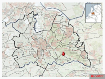 Location of the museum in Utrecht in the Netherlands.
