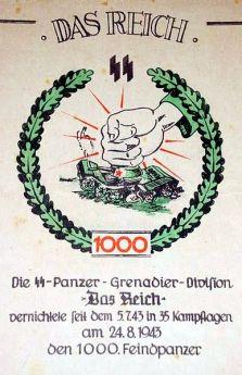 2. SS Panzer Division - Das Reich.