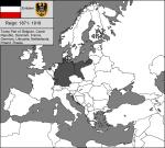 Reich versus the Modern European map.