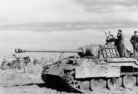 Panther on the Eastern Front, 1944.