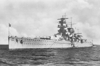 Admiral Graf Spee in 1936.
