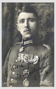 """Max Immelmann, Lieutenant, 9.5.16""."