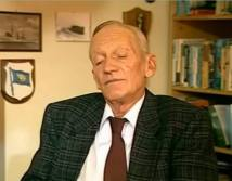 Captain Lieutenant a. D. Wuppermann in the post-war period.