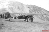 The actual Storch involved in Mussolini's rescue in the Gran Sasso raid.