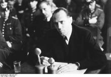 Moltke at the Volksgerichtshof.