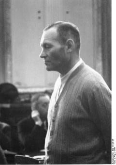 Hoepner at the Volksgerichtshof.