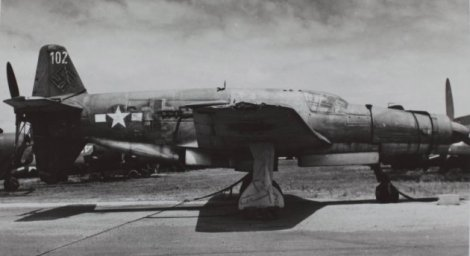 Do 335 tested in the USA, and today the only surviving example.