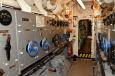 U-995 electric motor compartment.