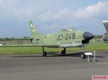 North American F-86 Sabre.