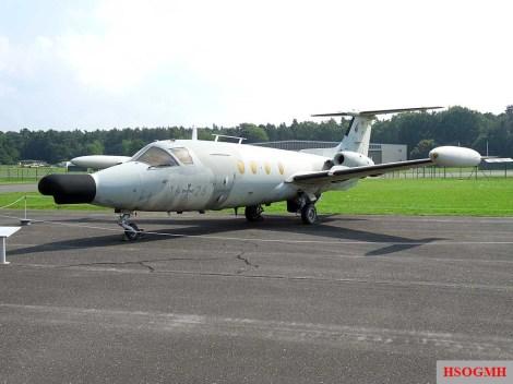 Hamburger Flugzeugbau HFB-320 Hansa Jet.