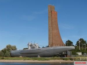 Laboe Memorial and submarine museum U 995.