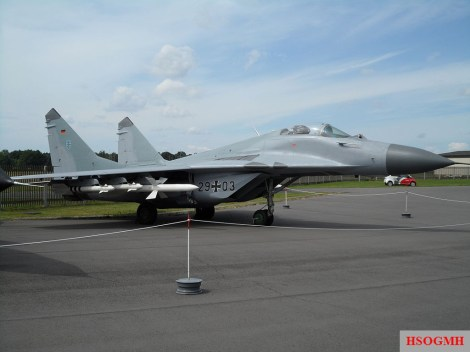 Mikoyan-Gurevich MiG-29 G 29+03, ex 615.