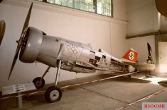 Udet's Curtiss Hawk Export (D-IRIK) as on display in the Polish Aviation Museum.