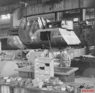 Turrets for the Maus in a captured factory.