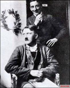 """Adolf Hitler and Emil """"Moritzl"""" Maurice imprisoned in Landsberg."""