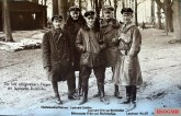 The five most successful pilots of the Richthofen squadron - from left to right: Sebastian Festner (killed in April 1917), Karl-Emil Schäfer (killed in June 1917), Manfred von Richthofen (killed in April 1918), Lothar von Richthofen (crashed in 1922) and Kurt Wolff (fallen in September 1917).
