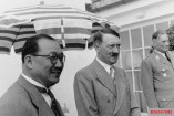 H. H. Kung and Adolf Hitler in Berlin.