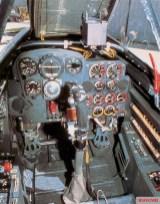 Me 262 cockpit.