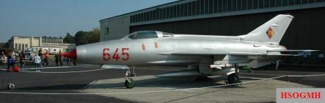 Mikoyan-Gurevich MiG-21 F-13 645.